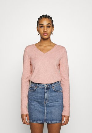 VIRIL  - Pullover - misty rose/melange