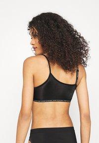 Calvin Klein Underwear - ONE GLISTEN UNLINED BRALETTE - Alustoppi - black - 2