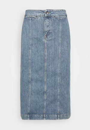 JAIRA - Jupe en jean - light blue