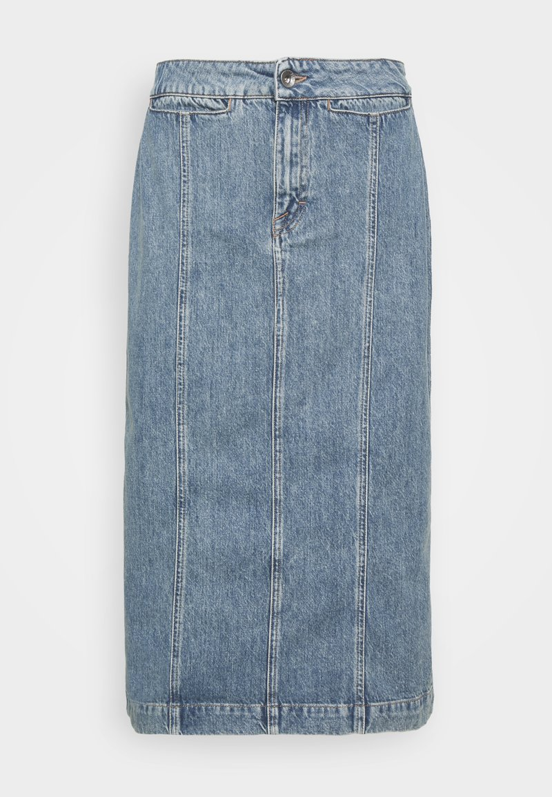 Tiger of Sweden Jeans - JAIRA - Denimová sukně - light blue