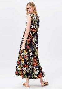 Green Cotton - Maxi-jurk - schwarz/multicolor - 4