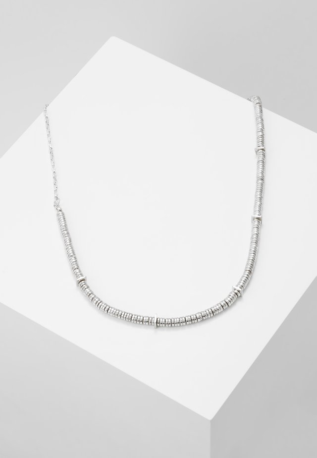 BREAK OUT NECKLACE - Necklace - silver-coloured