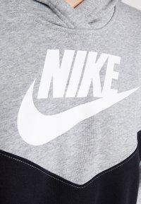 Nike Sportswear - HOODIE - Denní šaty - black/white - 5