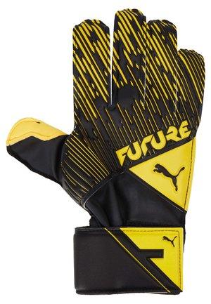 Goalkeeping gloves - ultra yellow/black