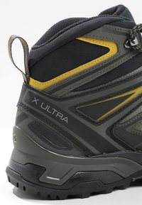 Salomon - X ULTRA 3 MID GTX - Scarpa da hiking - castor gray/black/green sulphur - 5