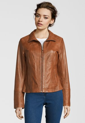 TAMMY  - Leather jacket - brown