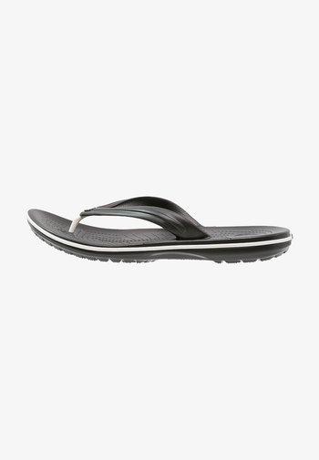 CROCBAND FLIP UNISEX - Pool shoes - black