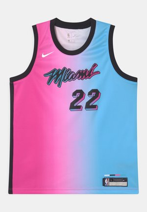 NBA CITY EDITION MIAMI HEAT JIMMY BUTLER UNISEX - Klubbkläder - pink/blue
