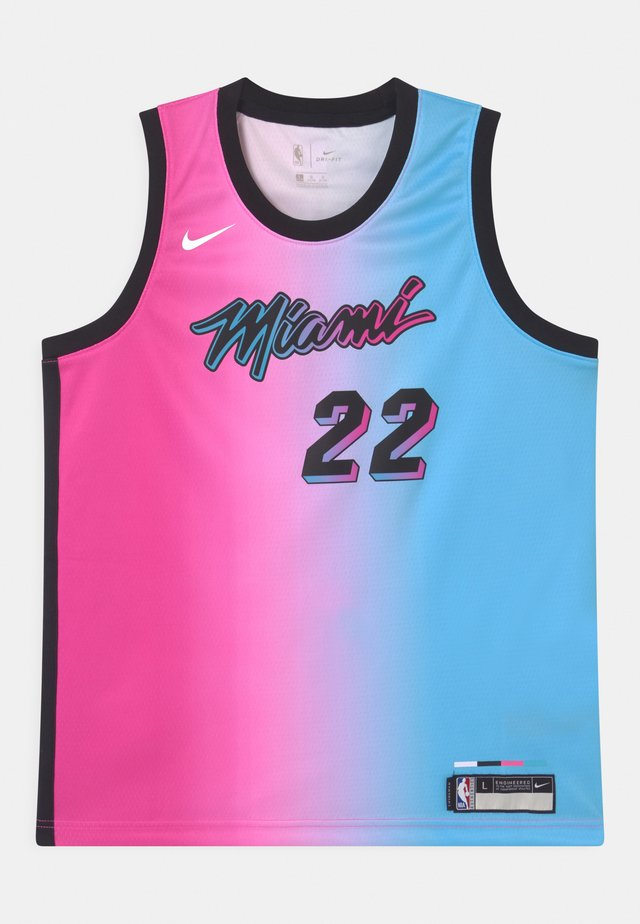 NBA CITY EDITION MIAMI HEAT JIMMY BUTLER UNISEX - Fanartikel - pink/blue