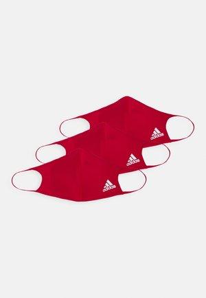 FACE UNISEX 3 PACK - Masque en tissu - power red