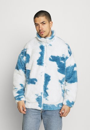 CLOUD BORG ZIP JACKET - Giacca da mezza stagione - blue/white