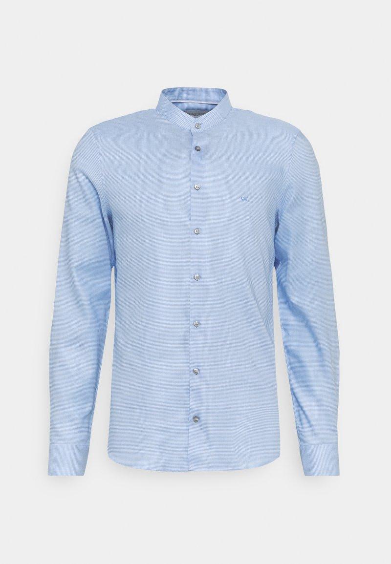 Calvin Klein Tailored - MOTIF EASY CARE SLIM SHIRT - Formal shirt - light blue