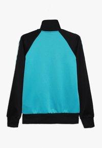 Hummel - HMLKICK - Training jacket - black/lake blue - 1