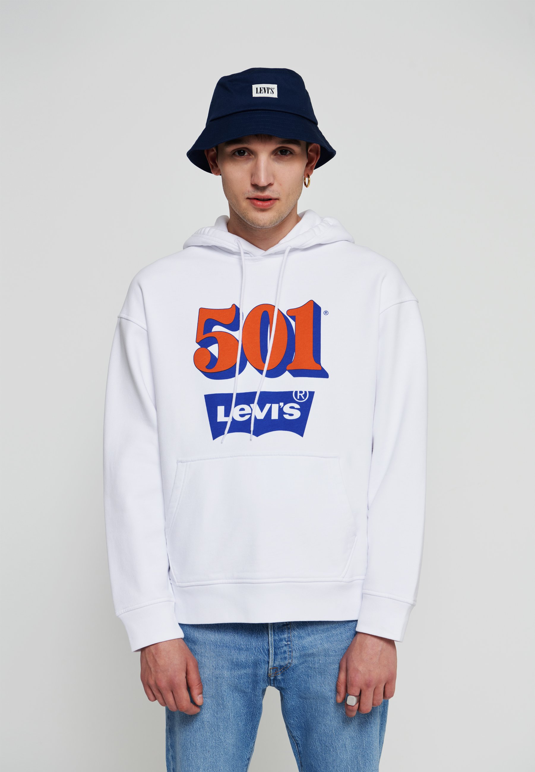 Homme 501 DAY RELAXED GRAPHIC - Sweatshirt