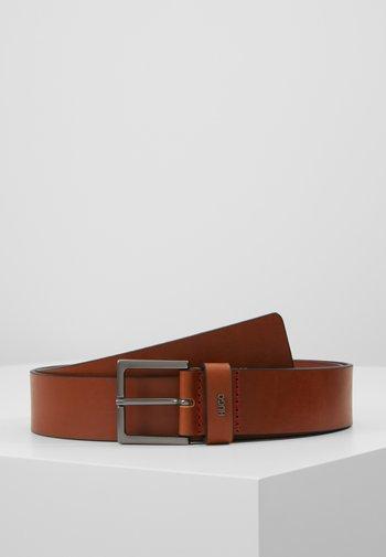 GIOVE - Pásek - medium brown