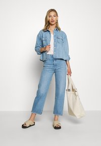 Levi's® - RIBCAGE STRAIGHT ANKLE - Straight leg jeans - tango gossip - 1