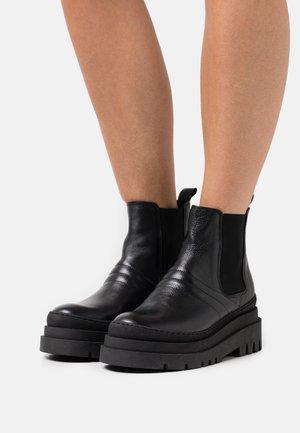 BIADEMA SHORT BOOT - Platform ankle boots - black