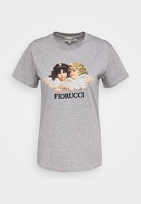 Fiorucci - VINTAGE ANGELS TEE - T-shirt con stampa - heather grey - 0
