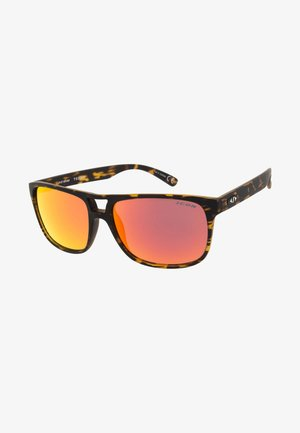 TEMPO - Sports glasses - mottled brown
