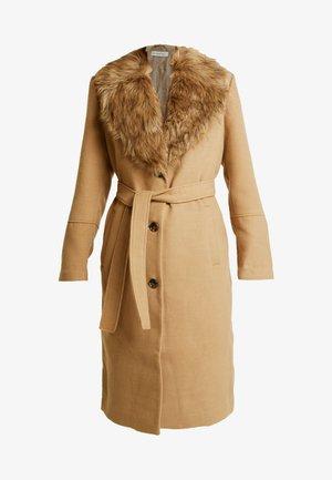 COLLAR COAT - Abrigo - beige