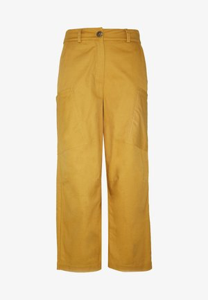 NUBIZZY PANTS - Trousers - yellow
