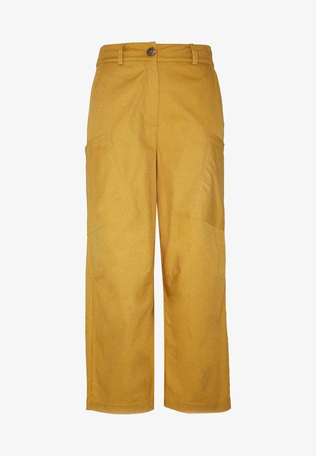 NUBIZZY PANTS - Kangashousut - yellow