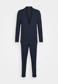 Isaac Dewhirst - BLUE CHECK - Kostym - blue - 11