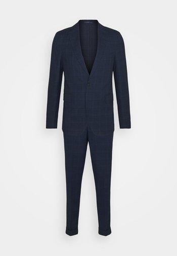 BLUE CHECK - Suit - blue