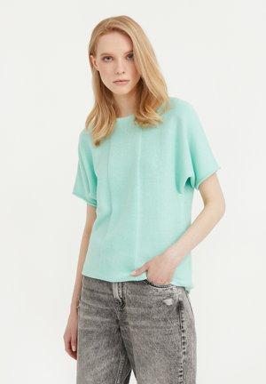 RUNDHALS - Print T-shirt - light green