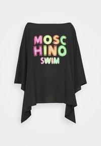 MOSCHINO SWIM - KAFTAN - Doplňky na pláž - black - 4
