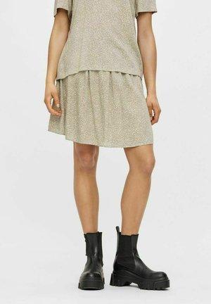 PCNYA SKIRT - Mini skirt - shadow