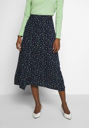SKIRT - Wrap skirt - dark blue
