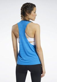 Reebok - WORKOUT READY ACTIVCHILL TANK TOP - Top - blue - 2