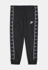 Nike Sportswear - TRICOT TAPING SET - Tepláková souprava - black - 2