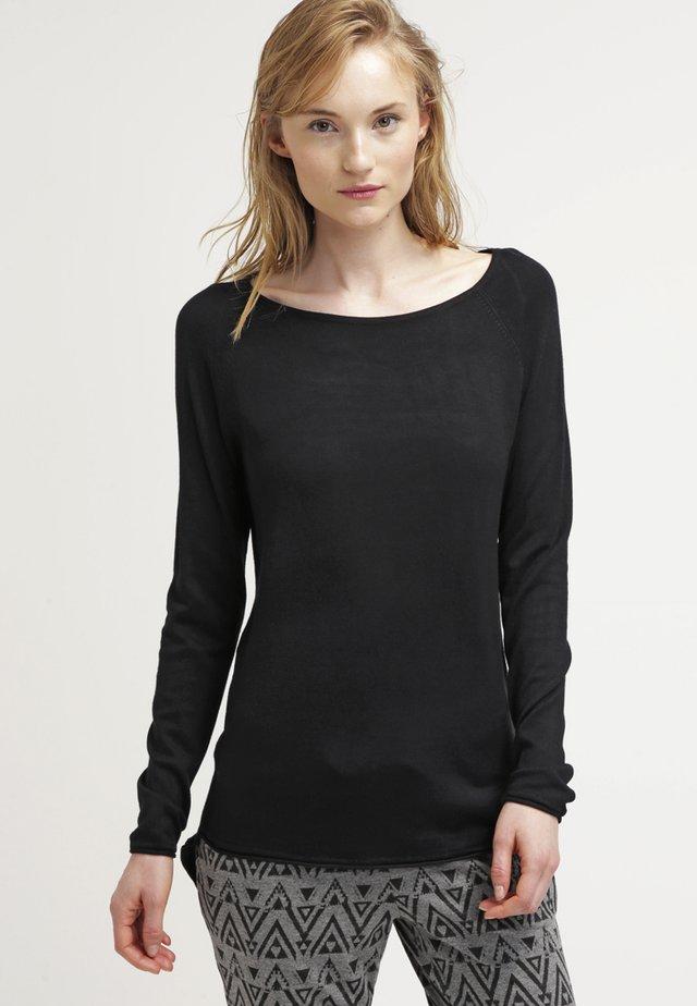 ONLMILA LACY LONG - Svetr - black