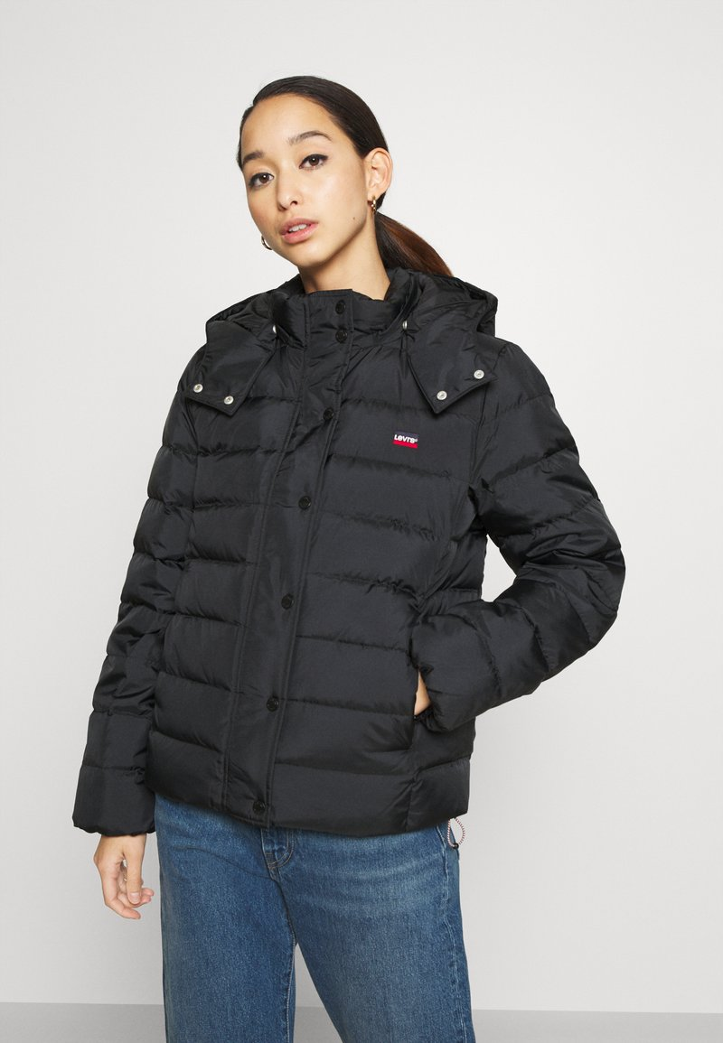 Levi's® - CORE PUFFER - Down jacket - caviar