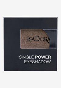 IsaDora - SINGLE POWER EYESHADOW - Eye shadow - taupe metal - 2