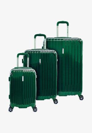 3 SET - Luggage set - grün/green