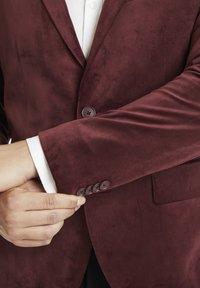Matinique - Blazer jacket - tawny port - 3