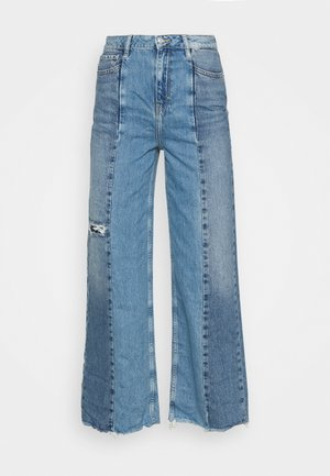 PUDDLE - Jean flare - blue
