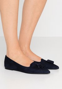 Pretty Ballerinas - ANGELIS - Baleríny - navy blue - 0