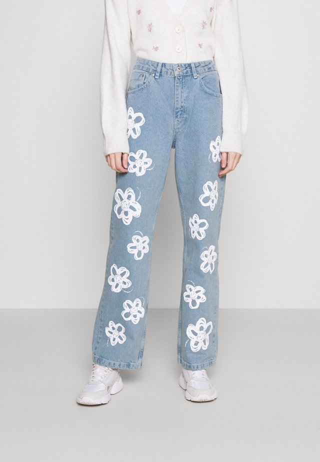 BUD - Jeans straight leg - light blue