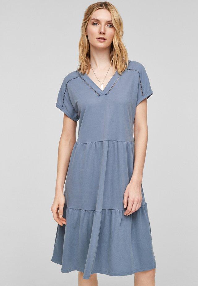 Korte jurk - powder blue