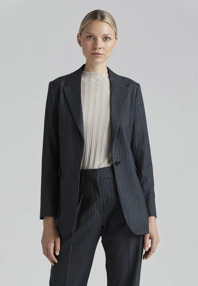 CELIA - Blazer - grey pinstripe
