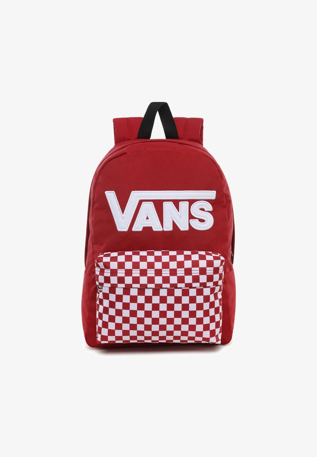 Mochila - chili pepper checkerboard