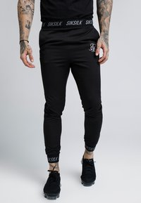 SIKSILK - PERSUIT PANT - Tracksuit bottoms - black - 0