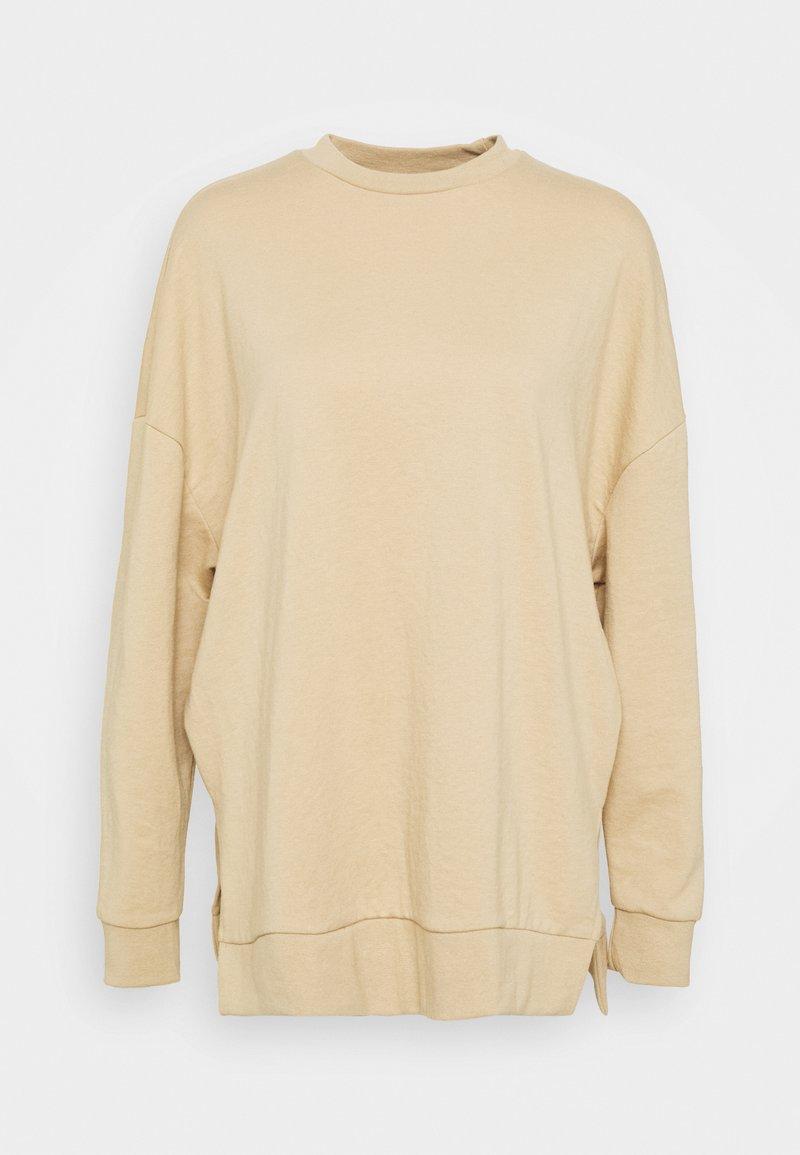 Even&Odd Slit Sides Oversized Sweatshirt - Sweatshirt - pink dgqvdt