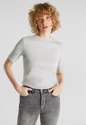 T-shirts basic - light grey