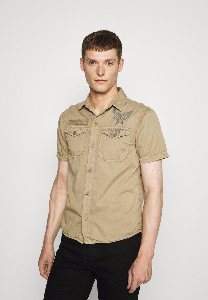 Schott - VICTORY - Shirt - army beige