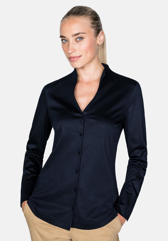 METTY - Button-down blouse - navy